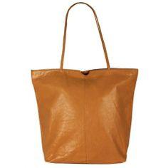 Latico Nora tote bag in a beautiful golden caramel
