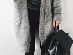Blk & grey. Diorina on tumblr