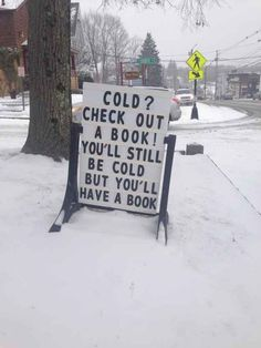 The librarians who have the perfect solution to winter weather.