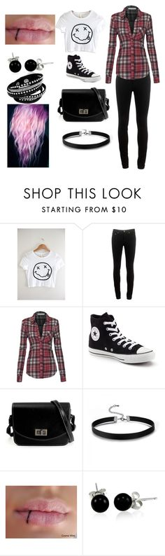 """""""outfit 6"""" by hannahkatelow ❤ liked on Polyvore featuring rag & bone, Converse and Bling Jewelry"""