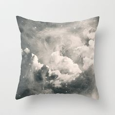 Find Me Among the Stars Throw Pillow by Caleb Troy - $20.00