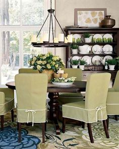 Love The Green Slipcovers