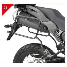 Givi PLXR Tubular side case holders - Honda VFR800 2002-2009