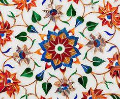 Rooted Deeply- Beautiful Inlay Work in Taj Mahal