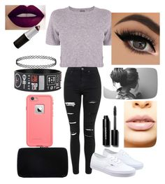 """""""Untitled #257"""" by nightmarelove ❤ liked on Polyvore featuring Monrow, Topshop, Vans, Sergio Rossi, LASplash, Bobbi Brown Cosmetics, women's clothing, women's fashion, women and female"""