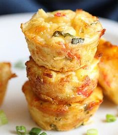How to Make Quffins - Crust-Less Mini Quiches Baked in Muffin Tins Mini Quiche Recipes, Cheese Recipes, Cooking Recipes, Bacon Quiche, Mini Quiches, Nutrition Data, Pitted Olives, Best Cheese, Make Ahead Meals