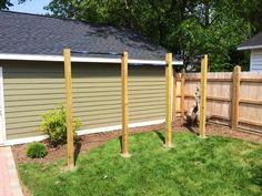 backyard pull up rig 4x6 treated lumber in concrete 3 pull up