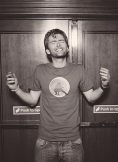 Don't You Wish You Were the Reason for This Joy? | Community Post: 27 Photos Of David Tennant That Will Make Your Panties Drop.