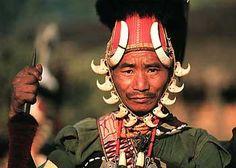 Tribal Man In Assam