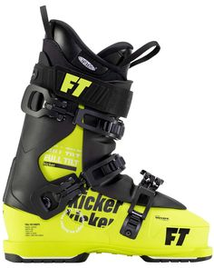 Full Tilt Kicker Roomy Fit, Freestyle Performance New this year, the Full Tilt Kicker is the perfect boot for freestyle skiers that don't want to cram their feet into a narrow boot. Complete with a roomy 3 piece evolution shell, easy to slip into Classic Tongue Liner and a forgiving 4/70 flex, the Kicker is your go to boot for improving your freestyle skiing game or just skiing all over the mountain in comfort. Slip them on, buckle them up, and get kicking. Change the tonque to go stiffer…