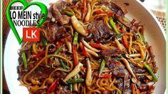 Beef Lo Mein style Stir Fried Noodles