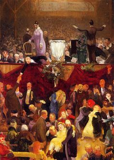 The Athenaeum - The Sawdust Trail (George Wesley Bellows - )