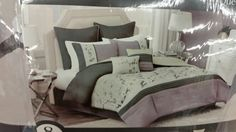 My comforter set from bed bath and beyond