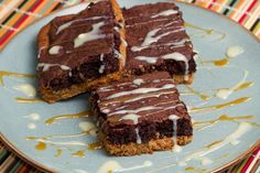 Cookie Butter Brownie Bars