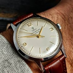 "2ced2d7054d Gungadin Watches on Instagram  ""Splendid Unusual Vintage Rolex Tudor  Bravingtons London Gents Wristwatch c.1950s £595.00…"""