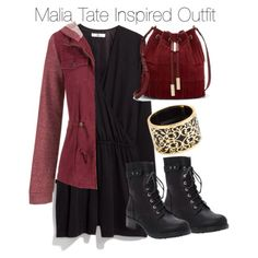 Malia Tate Inspired Outfit by staystronng