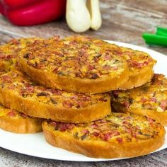 Reall about pizza recipes healthy. Cold Vegetable Pizza, Vegetable Pizza Recipes, White Pizza Recipes, Baby Food Recipes, Cooking Recipes, Cooking With Ground Beef, Good Food, Yummy Food, Pizza Bites