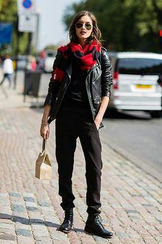 leather jacket ...