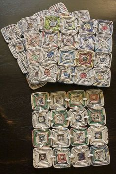 Trivet- Recycled Newspaper    Trivets made of recycled newspaper - topselling…