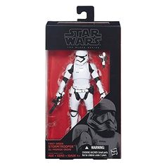 The Star Wars The Black Series 6-Inch First Order Stormtrooper looks fantastic! Star Wars Gifts. Gifts and Presents for Star Wars Fan(atic)s!
