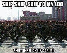 Skip to my loo