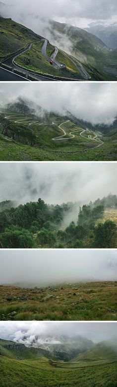 The freebie of the day is a new set of high-resolution nature photos, this time featuring foggy mountain landscapes...