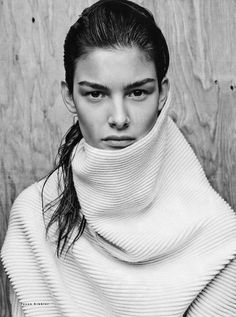 Vogue Russia September 2014 | Ophelie Guillermand by Jason Kibbler