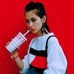 "vietnamvirgo: "" Kiko Mizuhara for Nylon Japan August 2015 """