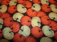 Free Shipping! on 2 #Whitepumpkin and #Orange #Pumpkin Sofa Pillow Covers by #craftsbydebbielea