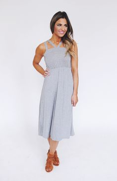 Dottie Couture Boutique - Grey Cut Out Dress , $38.00 (http://www.dottiecouture.com/grey-cut-out-dress/)
