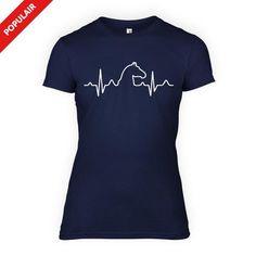 Paarden Hartslag - Dames T-Shirt