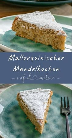 The secret to the incredibly juicy & light Mallorcan almond cake . - The secret to the incredibly juicy & light Mallorcan almond cake without flour is egg whites. This makes the almond cake particularly fluffy and it tastes so delicious of marzipan! Healthy Dessert Recipes, Smoothie Recipes, Baking Recipes, Cookie Recipes, Pastry Recipes, Almond Cakes, Food Cakes, Fabulous Foods, Holiday Desserts