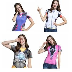 Hi, girls, if you're a fan of the Overwatch Game, we are very willing to welcome you to pick up your favorite at G-LIKECLOTHES.COM! We believe that once you get it, you won't want to take it off. Just go for it!