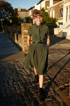 FASHION YOUR SEATBELTS: OUTFIT | ARMY GREEN