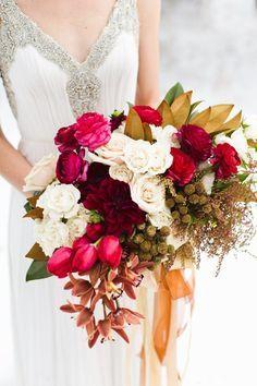 Fall Wedding Bouquet - eb+jc photography