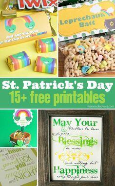 15+ FREE St. Patrick's Day Printables