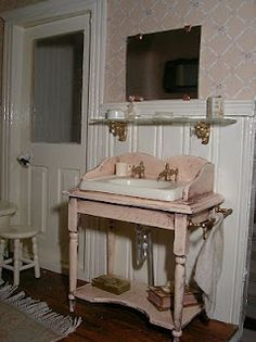 miniature wash stand