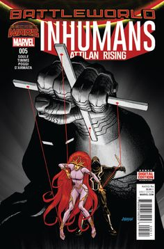 Preview: Inhumans: Attilan Rising #5, Cover - Comic Book Resources