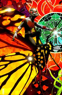 Ant-Man Created by Sean Anderson | HeroChan
