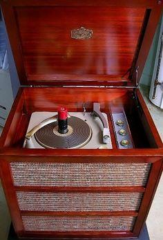 RCA Victor 6-HF-4 Record Player Hi Fi
