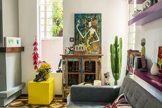 A linda casa da Mariana Kertész <3 www.casaaberta.net