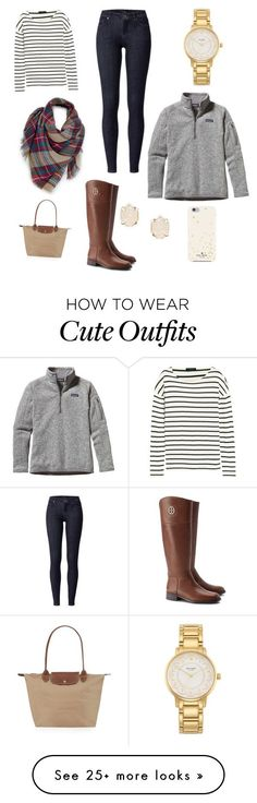 Crew, Kate Spade, Patagonia, Longchamp, Tory Burch and Kendra Scott Preppy Outfits, Preppy Style, Cute Outfits, My Style, Simple Style, Fashion Outfits, Fall Winter Outfits, Winter Wear, Autumn Winter Fashion