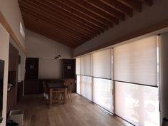 ダブルタイプのロールスクリーン | GRANDDECOR(グランデコール) Drapes Curtains, Divider, Interior Design, Room, Furniture, Home Decor, Luxurious Homes, Living Room Ideas, Nest Design
