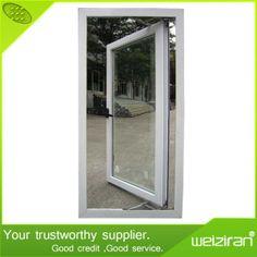 Thermal Break Insulated Aluminium Single Casement Swing Glass Window on Made-in-China.com
