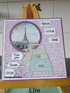 Marianne Design Cards, Holiday Travel, Calendar, Scrap, Card Crafts, French Style, Handmade, Collection, Homemade