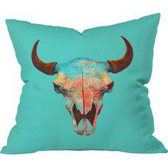Turquoise Sky Indoor/Outdoor Pillow