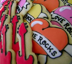 Love Rocks Cookies - #Valentines