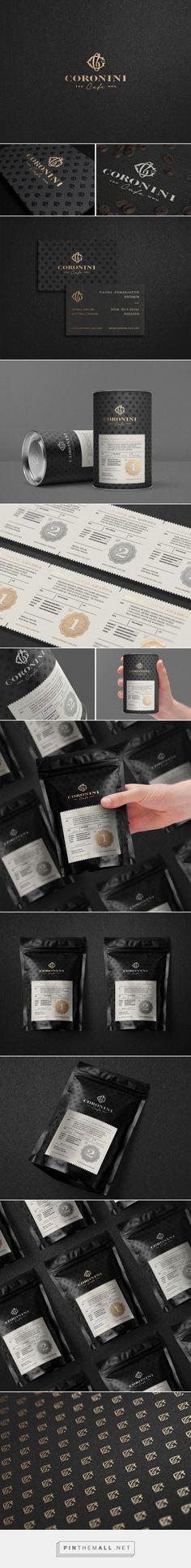 Coronini Cafe Coffee packaging designed by Milovanović (Slovenia) - http://www.packagingoftheworld.com/2016/02/coronini-cafe.html