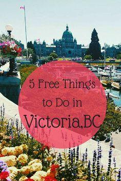 5 Fun and Free Things to Do in Victoria, BC Victoria Bc Canada, Victoria British Columbia, Visit Victoria, Alaska Travel, Canada Travel, Canada Trip, Visit Canada, Vancouver Island, Sunshine Coast