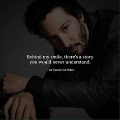 Behind my smile, there's a story you would never understand. —via http://ift.tt/2eY7hg4